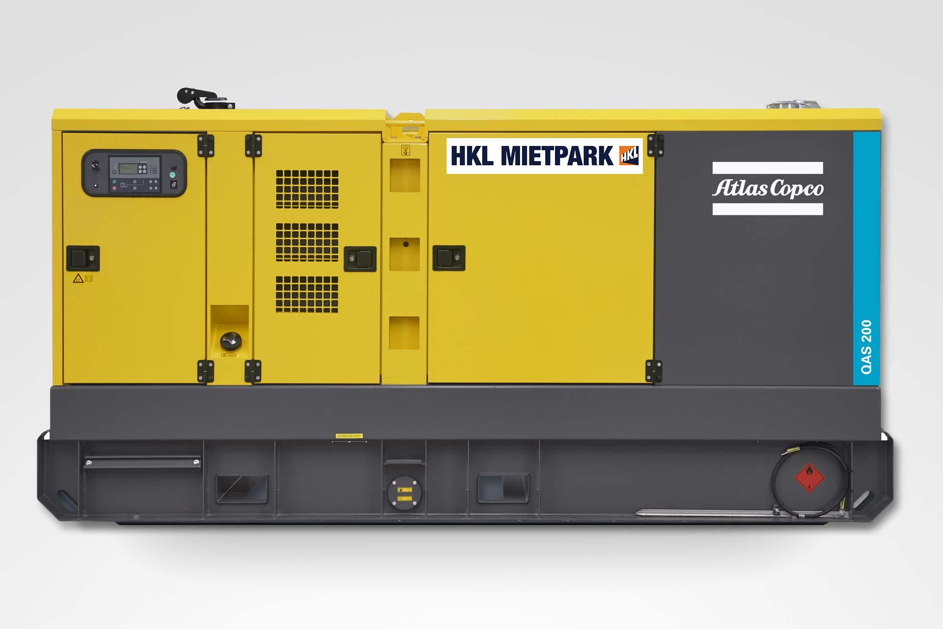 Atlas Copco QAS 200 Stromerzeuger