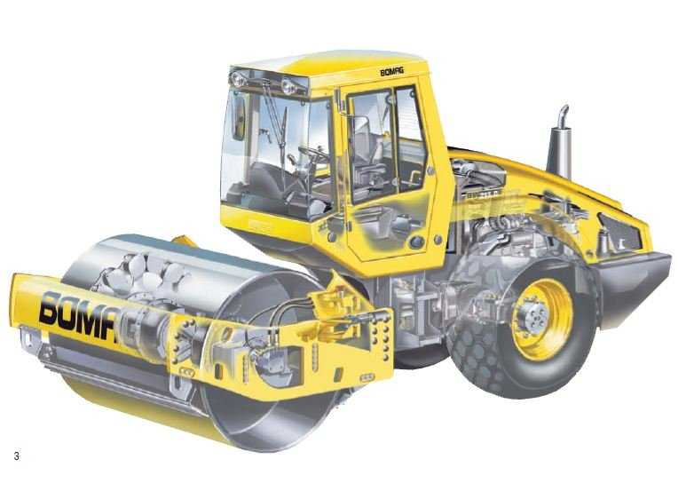 Bomag BW 213 PDH-4 Walzenzug
