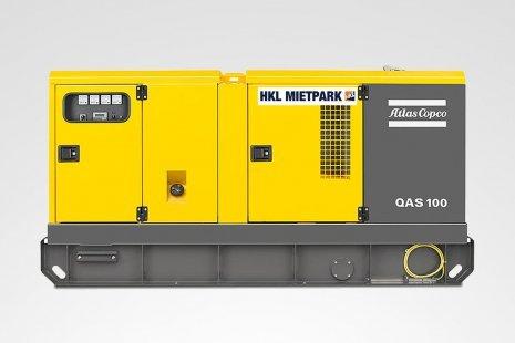 Atlas Copco QAS 100 Stromerzeuger mieten bei HKL