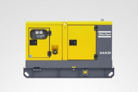 Atlas Copco QAS 20 Stromerzeuger mieten