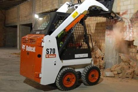 Bobcat S 70 Kompaktlader mieten bei HKL BAUMASCHINEN