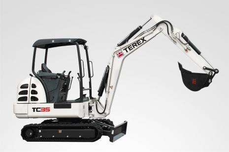 Terex TC 35 Minibagger mieten bei HKL BAUMASCHINEN