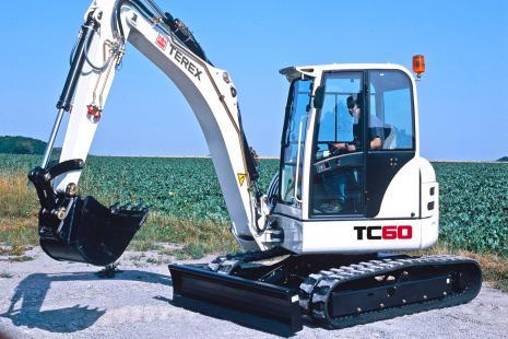 Terex TC 60 Kompaktbagger mieten bei HKL BAUMASCHINEN