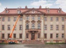 Höhentechnik am herrschaftlichen Schloss