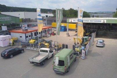 HKL Baumaschinen Hagen - Mieten - Kaufen - Service