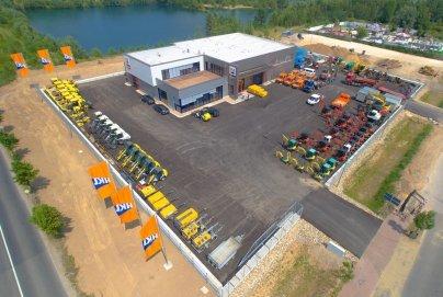 HKL Baumaschinen Neuss - Mieten - Kaufen - Service